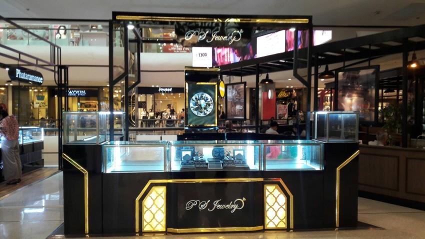 ออกแบบร้านจิวเวลรี่ ตกแต่งร้านจิวเวลรี่ P.S.Jewelry2.5