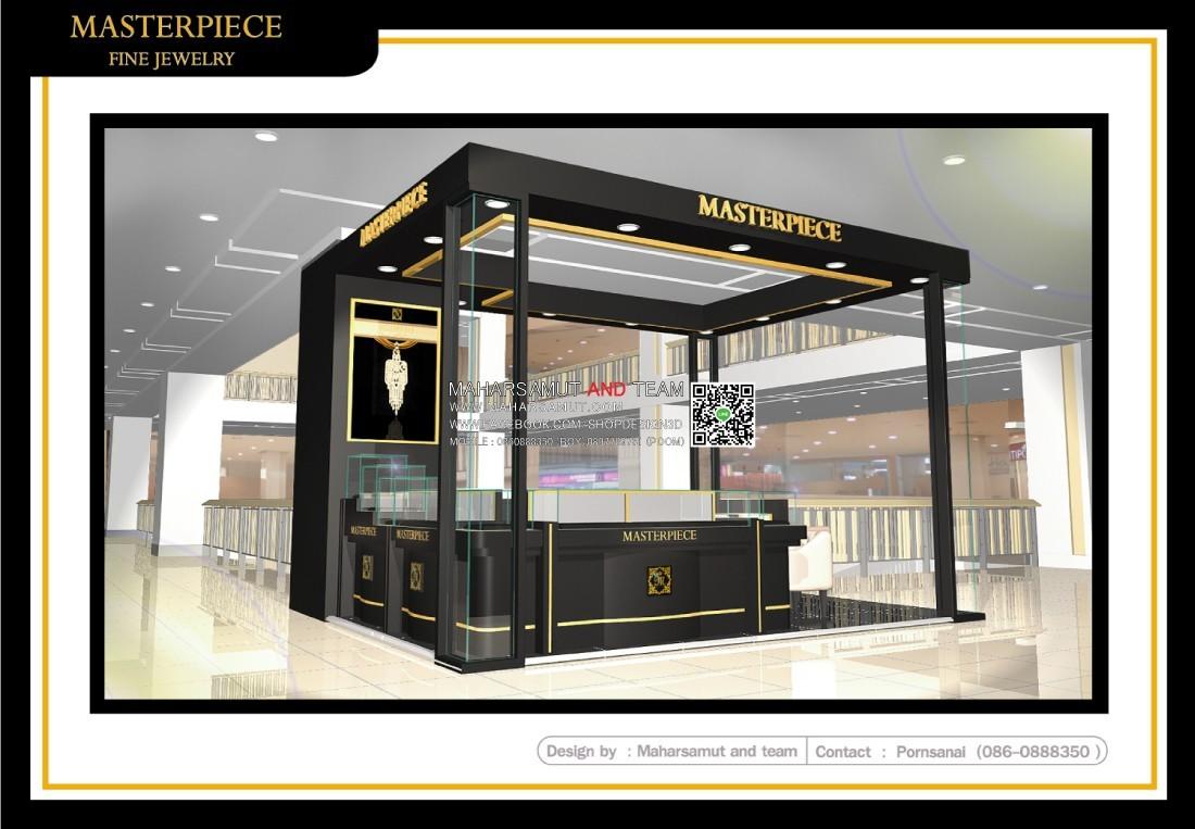 ออกแบบร้านจิวเวลรี่  Masterpiece1.2