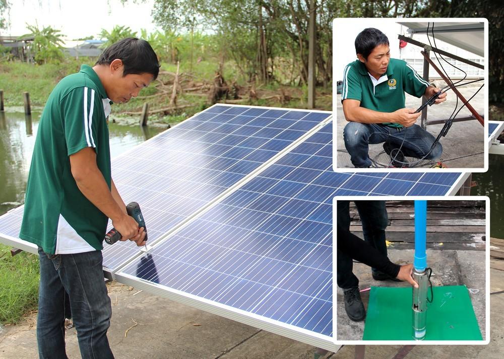 มีบริการติดตั้ง ปั้ม solar besttech