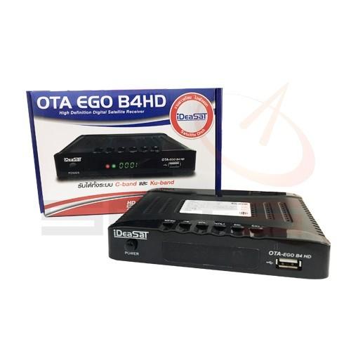 กล่องรับสัญญาณดาวเทียม iDEASAT HD รุ่น EGO B4HD