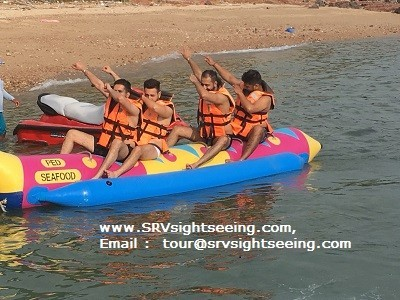 Banana Boat at TREE Islands in Pattaya