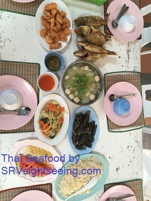 Thai Seafood at TREE Islands in Pattaya