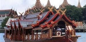 Rice Barge in Bangkok