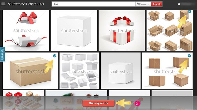 วิธีทำ keyword ให้ภาพ stock photo