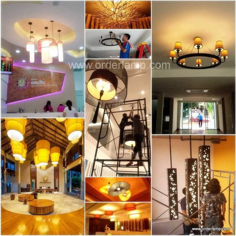 โคมไฟแขวน-โคมไฟเพดาน