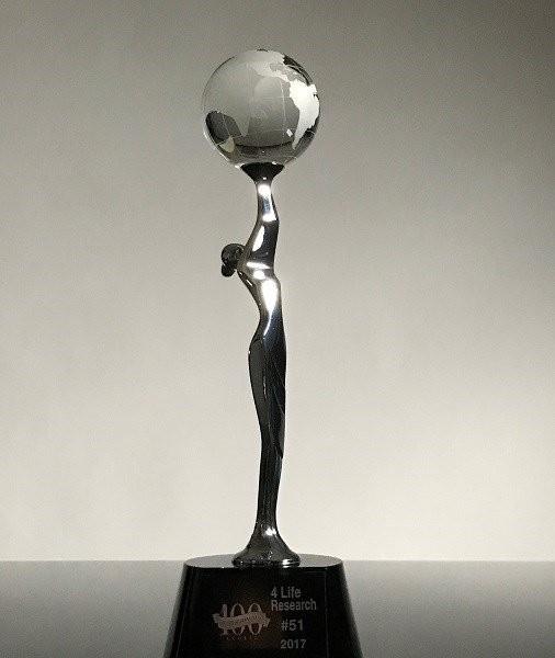 4Life ได้รับการจัดอันดับบริษัทขายตรงชั้นนำอันดับที่ 51 ของโลก