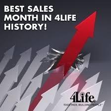 4Life ทำสถิตยอดขายสูงสุดในประวัติศาสตร์ของบริษัท