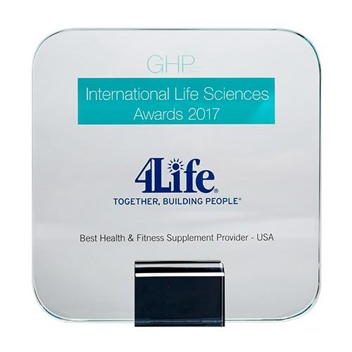 GHP ให้ 4Life เป็นผลิตภัณฑ์ที่ดีสุดด้านสุขภาพและการออกกำลังกาย