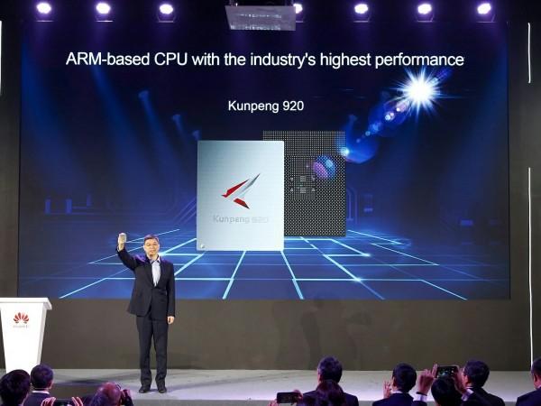 'หัวเว่ย' เปิดตัวCPU ARM ยกระดับพลังการประมวลผลระดับโลก
