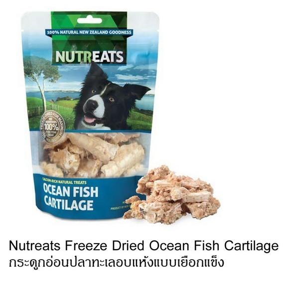 nutreats กระดูกปลาทะเล