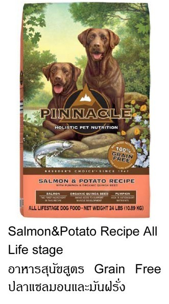 อาหารสุนัข Pinnacle holistic slamon recipe