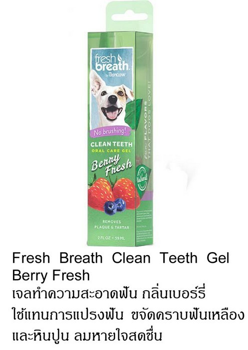 ropiclean berry fresh gel