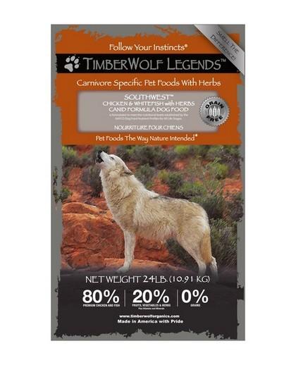 อาหารสุนัขทุกวัย timberwolf southwest