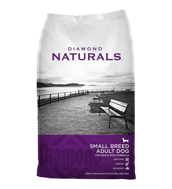 อาหารสุนัขพันธุ์เล็ก diamond naturals