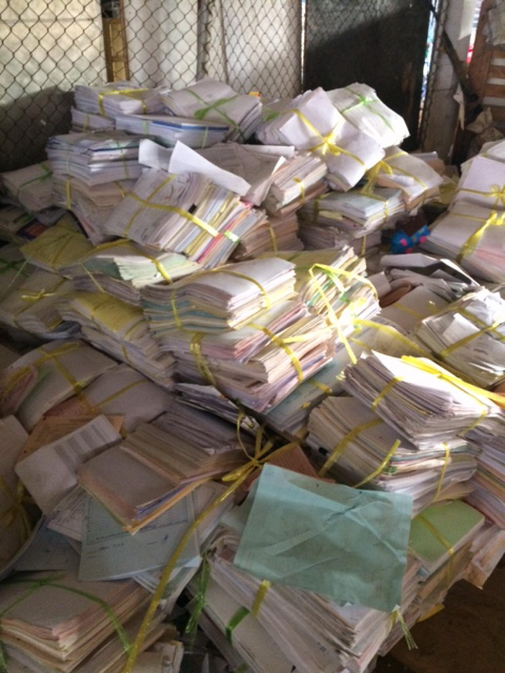 ทำลายกระดาษ