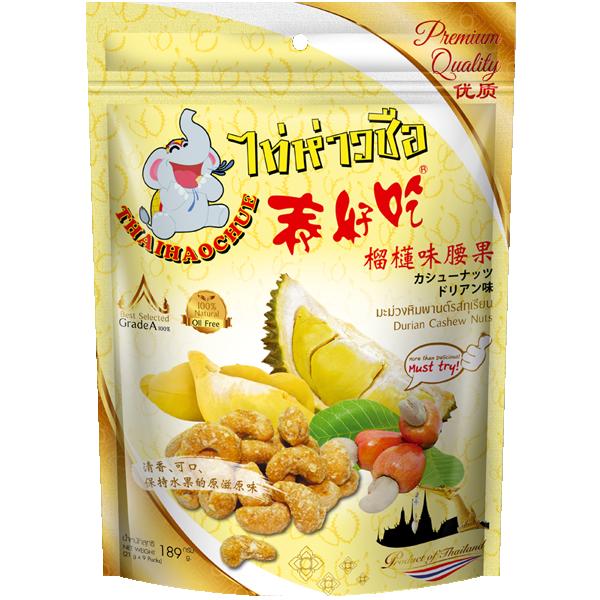Durian Cashew Nuts Thai Hao Chue Brand 189g