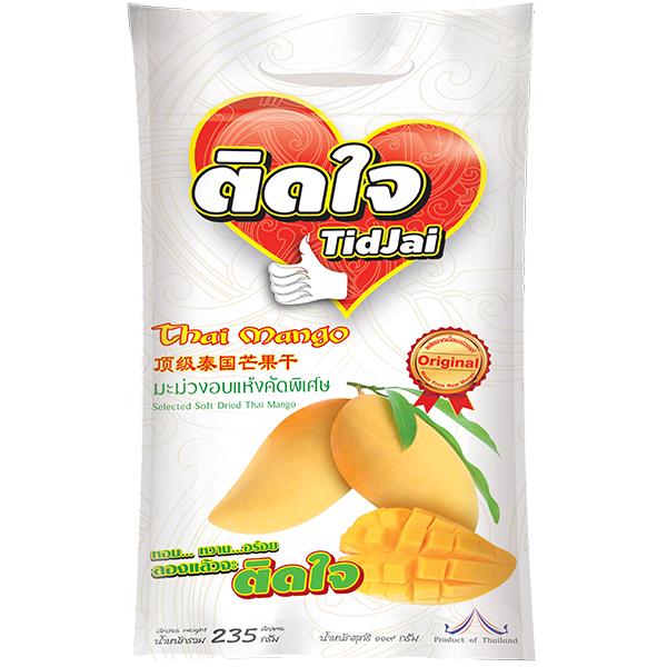 Selected Soft Dried Mango Tidjai Brand 235 G