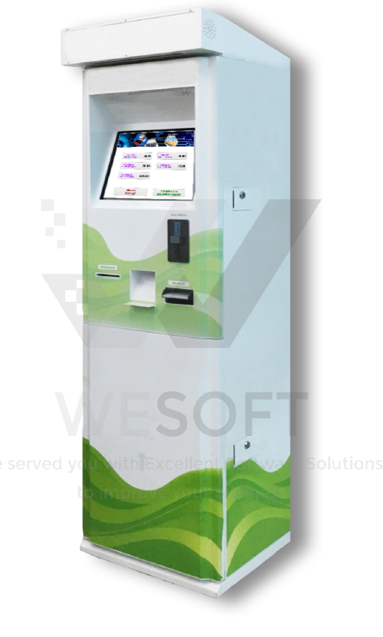 vending and top up card machine
