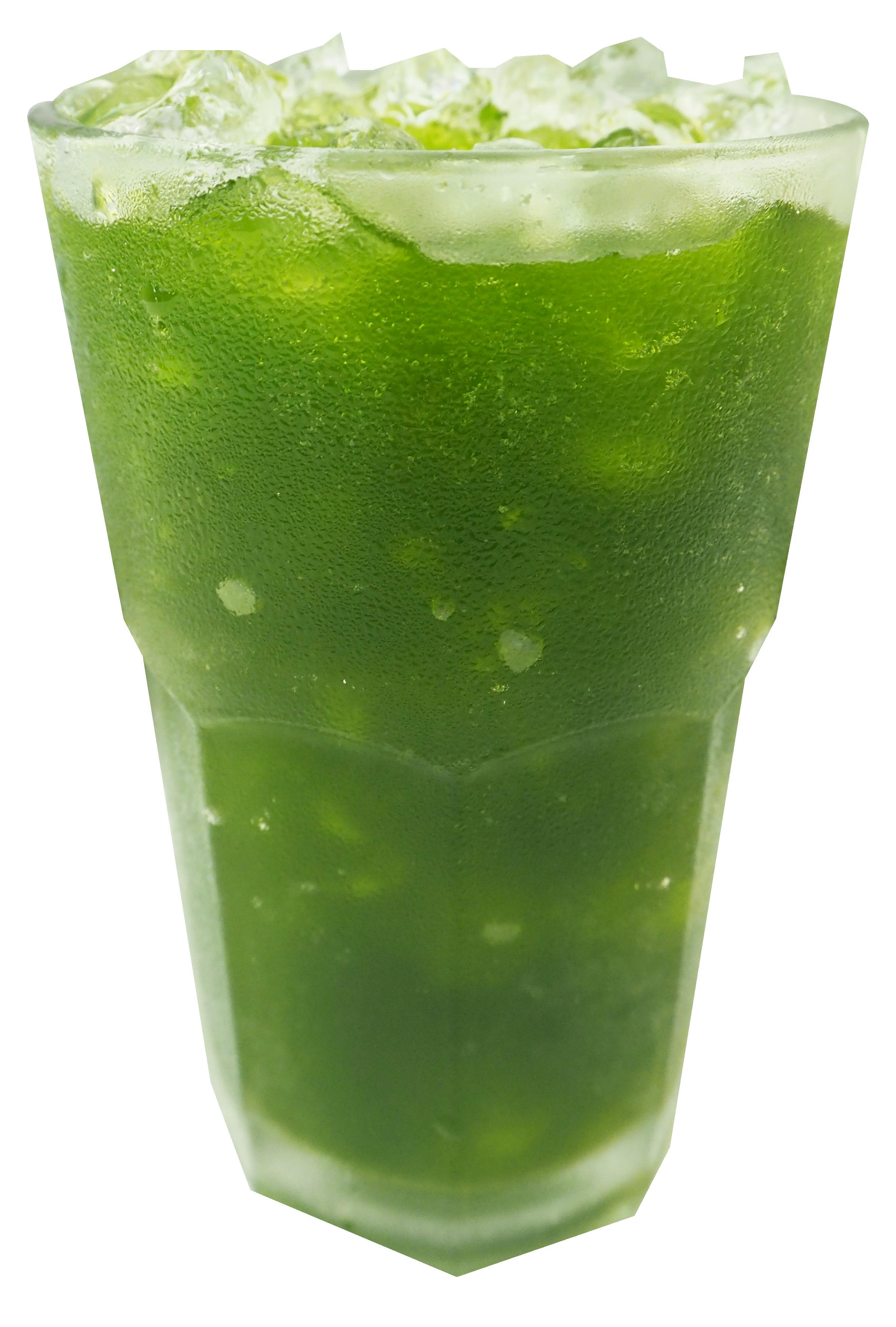 ชาเขียวมะนาวโซดา