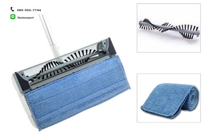 ไม้กวาดและไม้ถูพื้นไฟฟ้าไร้สาย 2 in 1 cordless sweeper & mop