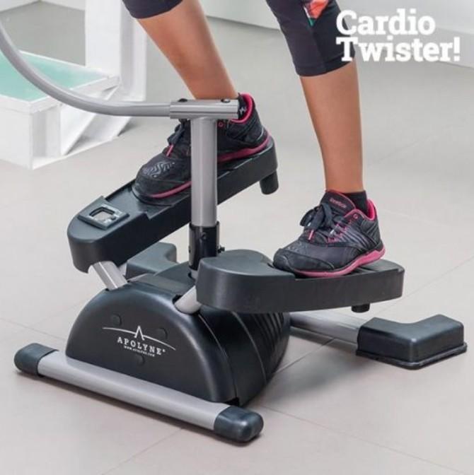 คาร์ดิโอ ทวิสเตอร์ (Cardio Twister) เครื่องออกกำลังกายแบบทวิส