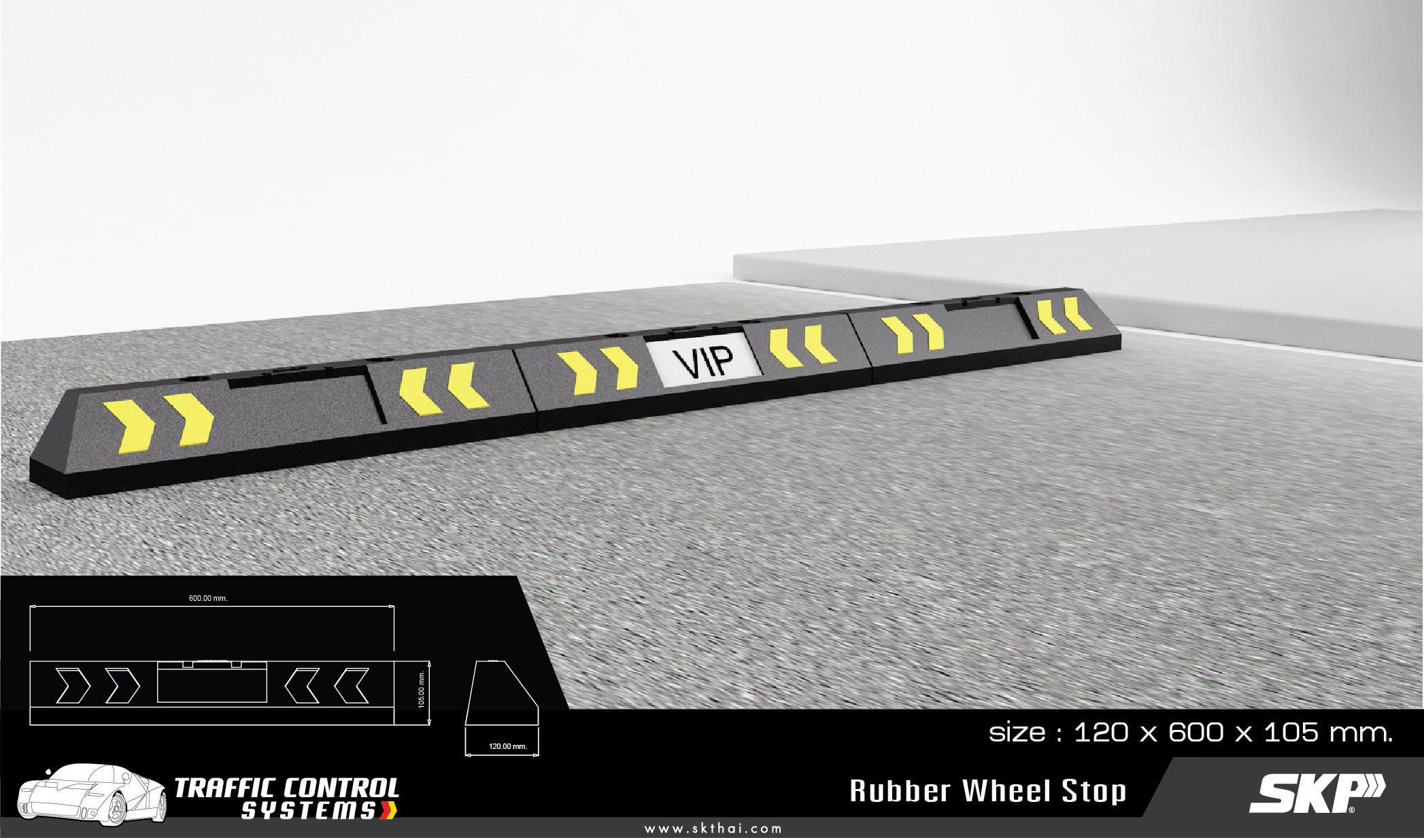 Rubber Wheel Stop