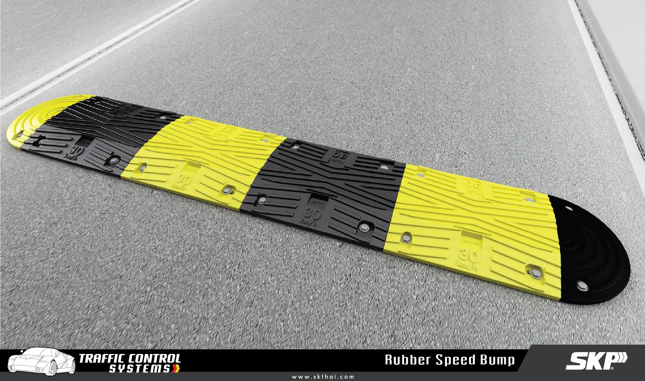 Rubber Speed Bump