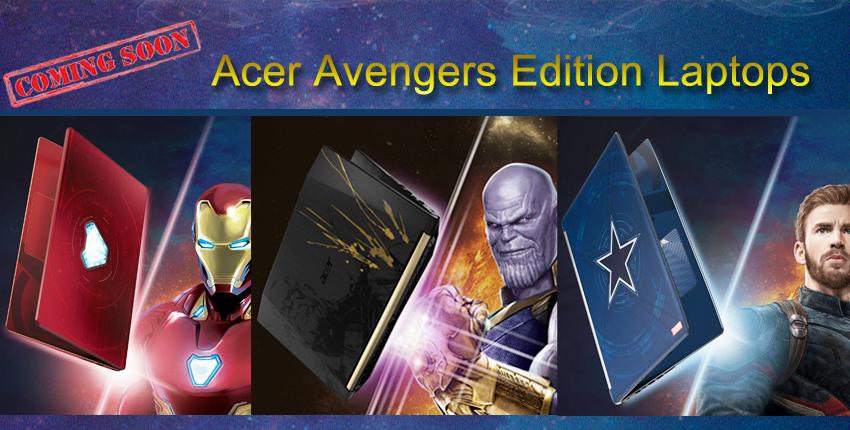 Avengers Edition Laptops
