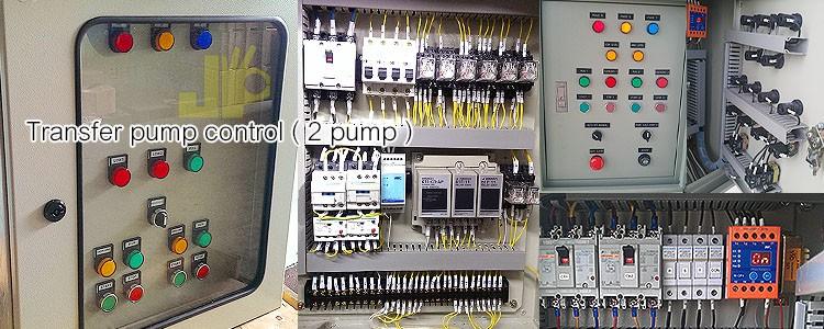 Transfer pump control