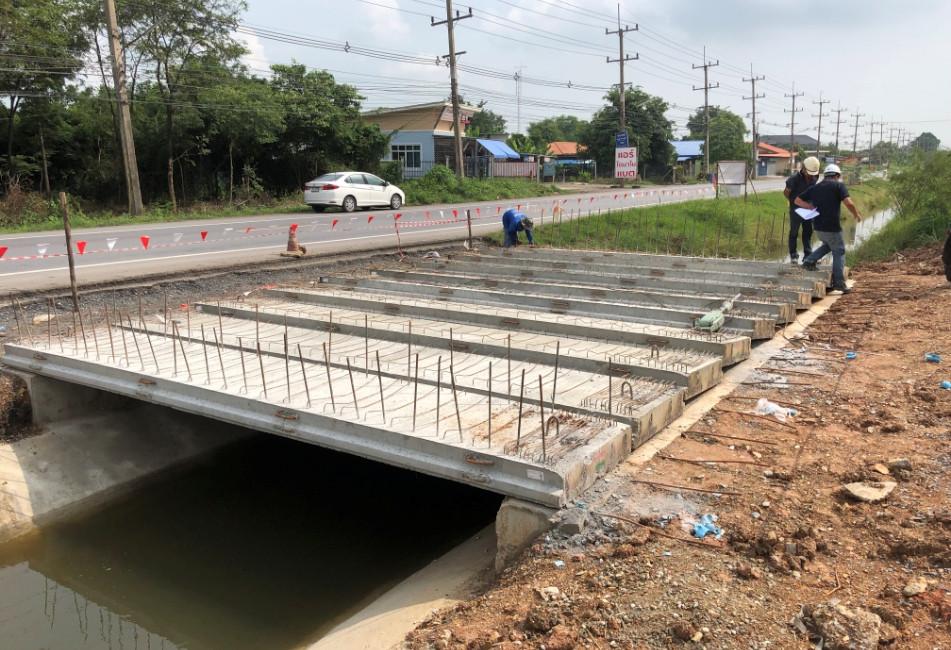 งาน plamk girder สะพานร่องแซง