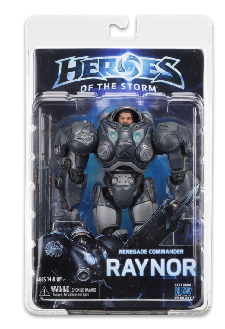 NECA Heroes Of The Storm Series 3 Raynor Action Figure 7