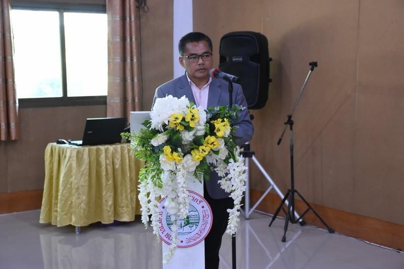 นายสมชาย เจ๊ะวังมา รองผู้อำนวยการสำนักจุฬาราชมนตรี
