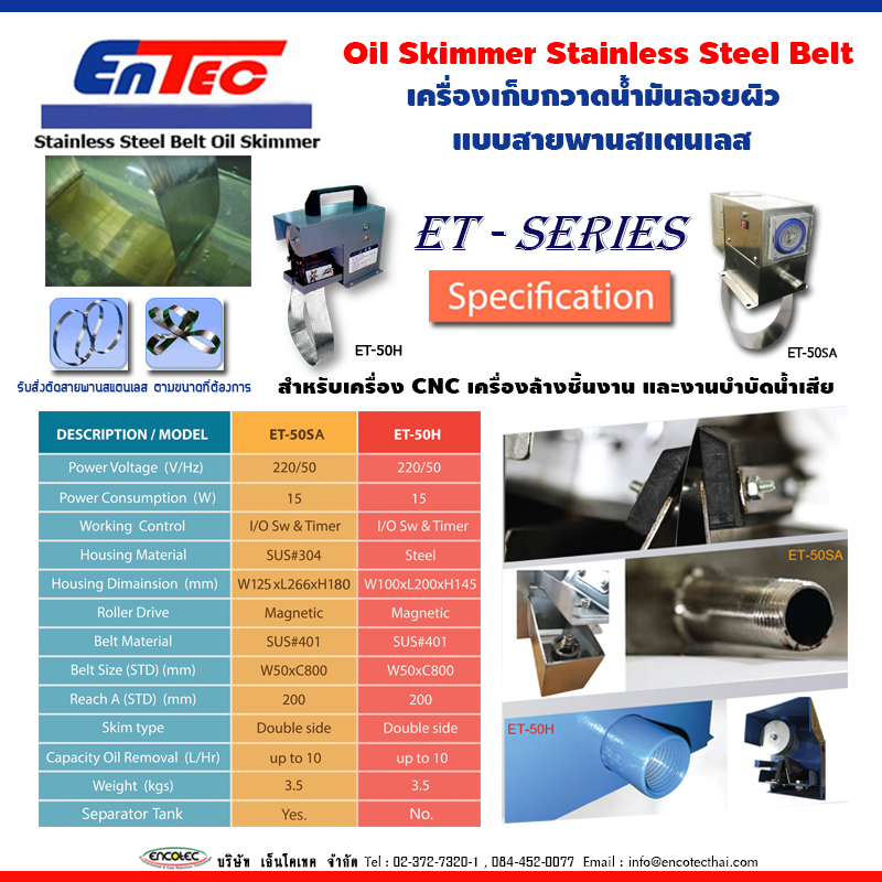 เครื่อง oil skimmer 12
