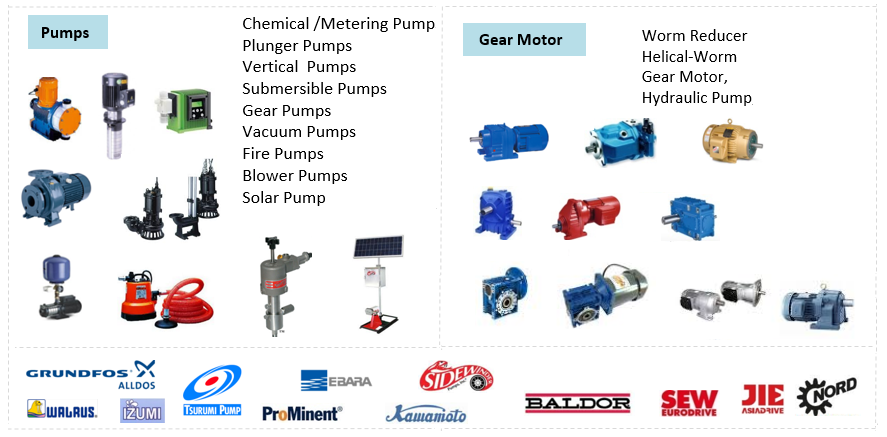 Pump & Gear motor