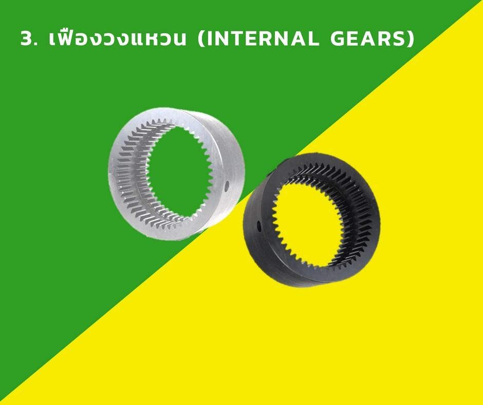 3. เฟืองวงแหวน (Internal Gears)