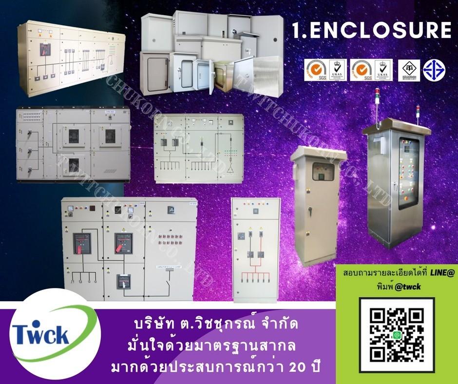 1.Enclosure (ตัวตู้ด้านนอก)