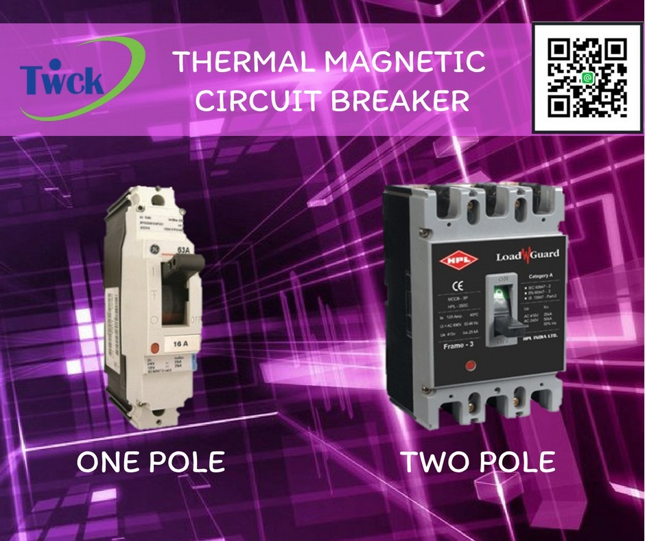Thermal magnetic circuit breaker