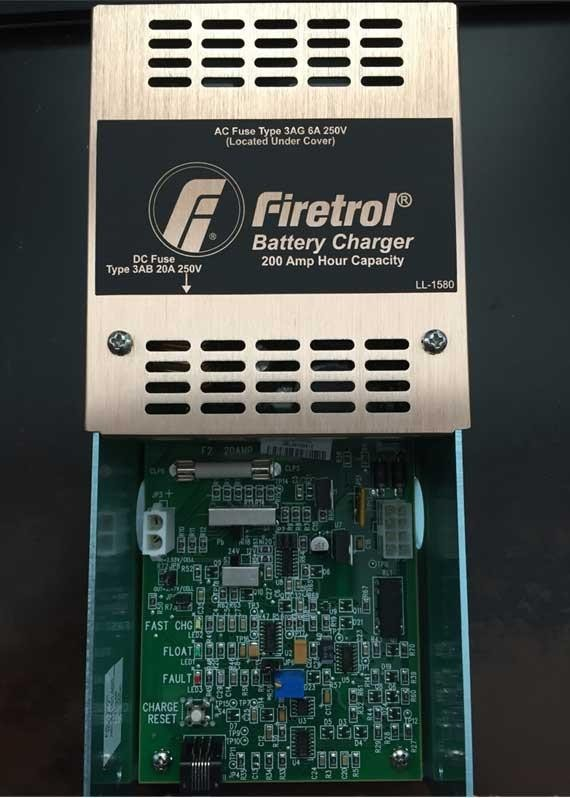 Battery Charger Firetrol