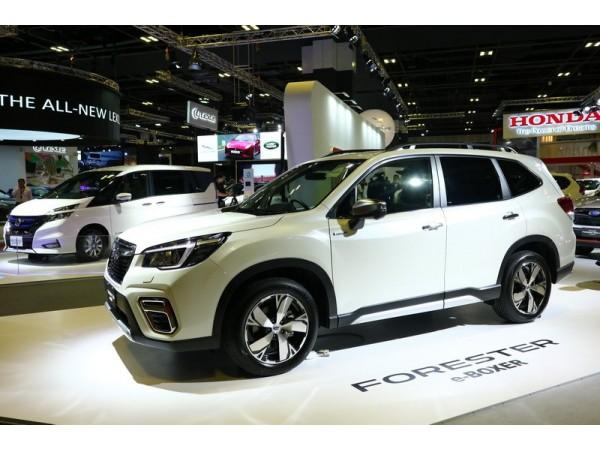 The All-New Subaru Forester e-Boxer ใหม่