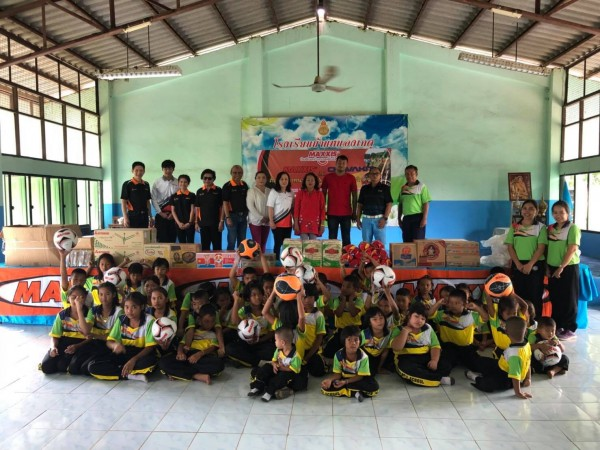 Maxxis ปันฝันสร้างรอยยิ้มให้น้อง   ณ โรงเรียนบ้านหนองเกตุ จ.ลพบุรี