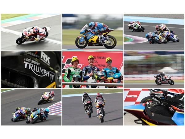 Lorenzo Baldassarri รักษาตำแหน่งผู้นำในการแข่งขัน ด้วยเครื่องยนต์ไทรอัมพ์ Moto2