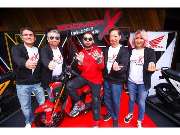 เอ.พี.ฮอนด้า ชวนวัยรุ่นไทยออกมาสนุกนอกกรอบ!  เปิดตัว New Honda Zoomer-X จับคู่แร็ปเปอร์สุดฮอต