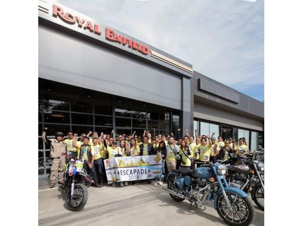 Royal Enfield Escapade 2018