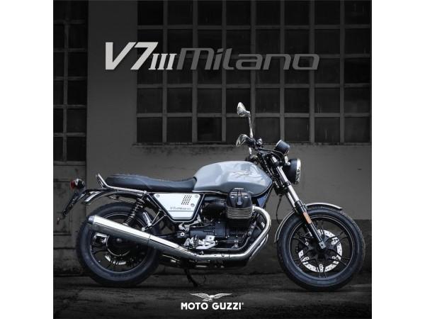 """เตรียมสัมผัสความตื่นเต้นแห่งการขับขี่ครั้งใหม่ด้วยโมเดลรุ่นพิเศษล่าสุด """"Moto Guzzi V7 III Milano"""""""