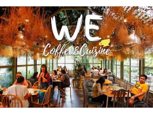 WE Coffee and Cuisine  Love on the Weekend
