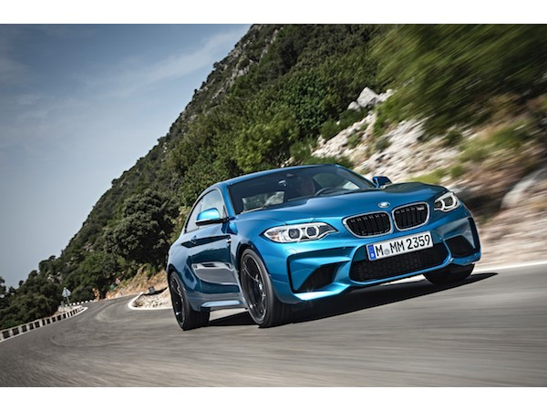 BMW M2 Coupe น้องเล็กในกลุ่มรหัสแรงของซีรีส์ M Performance ขุมพลังใหม่ 3.0 ลิตร 400 แรงม้า