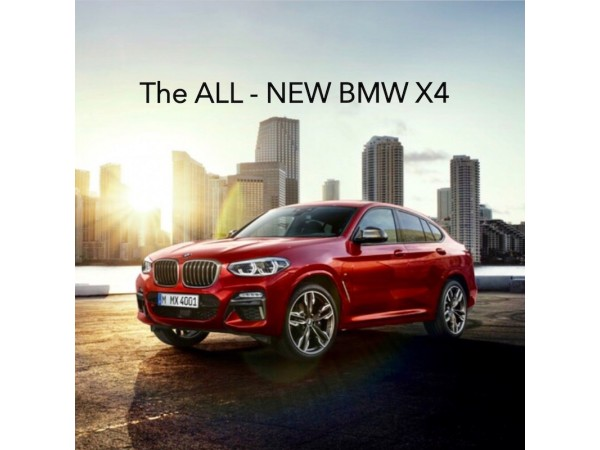The All - New BMW X4