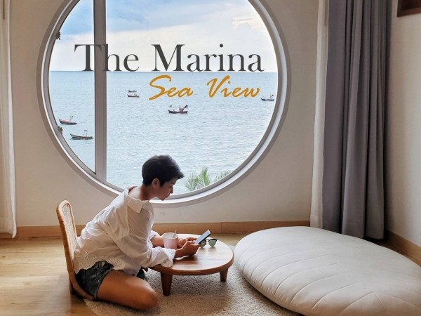 The Marina Sea View Bangsaen ที่พักสไตล์มินิมอล