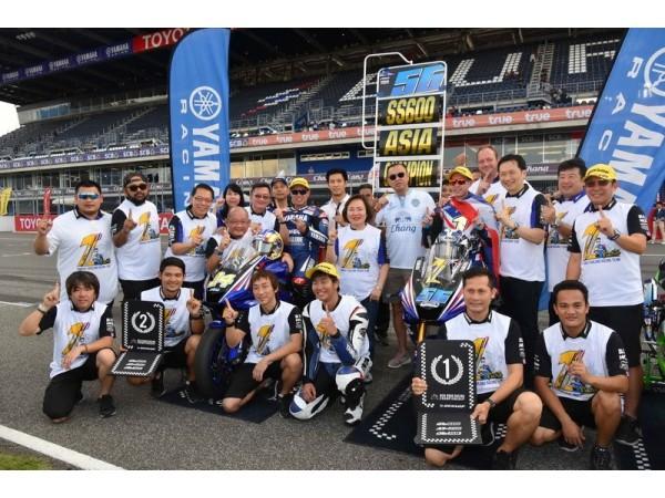 ยามาฮ่าแชมป์ asia road racing 2018!!!