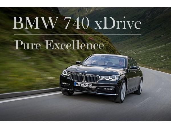 บีเอ็มดับเบิลยู ซีรี่ส์ 7 ยนตรกรรมระดับผู้นำควรค่าต่อการเป็นเจ้าของ BMW 740Le  xDrive Pure Excellence